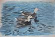 Geese painting thumbnail